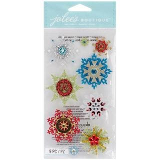 Jolee's Christmas Stickers - Embellished Snowflakes|https://ak1.ostkcdn.com/images/products/8779984/P16019416.jpg?impolicy=medium