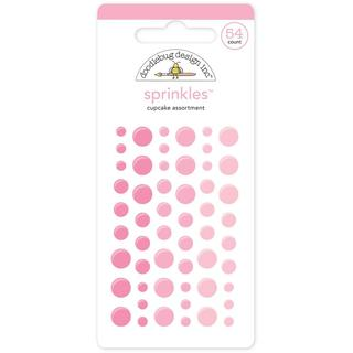 Monochromatic Sprinkles Glossy Enamel Arrow Stickers 54/Pkg - Cupcake
