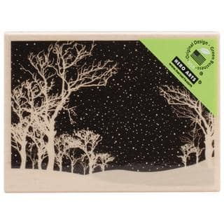 Hero Arts Mounted Rubber Stamps 2.25 X3.25 - Snowy Night|https://ak1.ostkcdn.com/images/products/8780265/P16019692.jpg?impolicy=medium