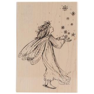 Penny Black Mounted Rubber Stamp 3.5 X5  - Magic Of Christmas