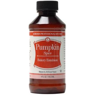 Bakery Emulsions Natural & Artificial Flavor 4oz - Pumpkin