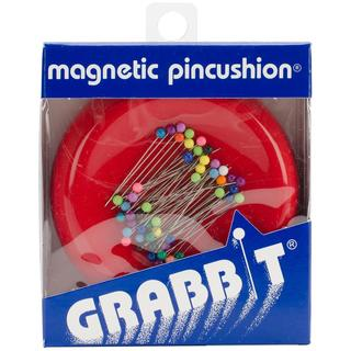 Shop Grabbit Magnetic Pincushion Red Free Shipping On
