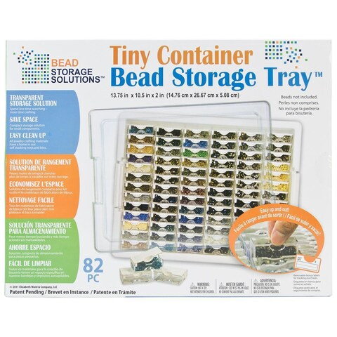 Elizabeth Ward's Tiny Container Bead Storage Tray -