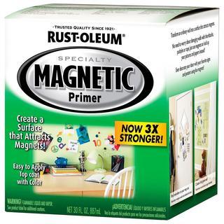 Rust-Oleum Magnetic Primer - Gray Quart