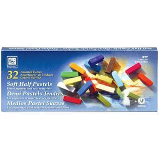 Soft Half Pastels 32/Pkg -