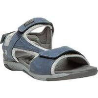 Women's Propet Helen Denim Blue/Silver
