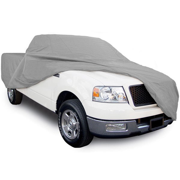 Oxgord Ultra-Soft Indoor 2-Layer Pickup Truck Cover Charcoal Grey Sizes for Any Cab & Box