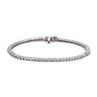 Diamonds For A Cure 14k White Gold 2ct TDW Tennis Bracelet (G-H, SI1-SI2)