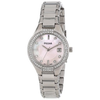Pulsar Women's PH7289 Mother of Pearl Dial Dress Sport Collection Watch