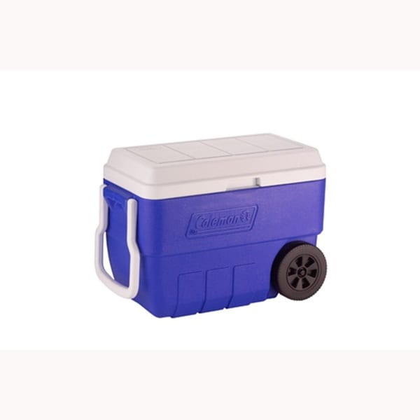 Coleman Blue 56-quart Wheeled Performance Cooler