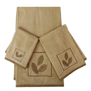 Sherry Kline Ridge 3-piece Embellished Towel Set