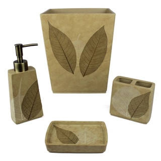 Sherry Kline Ridge Bath Accessory 4 Piece Set