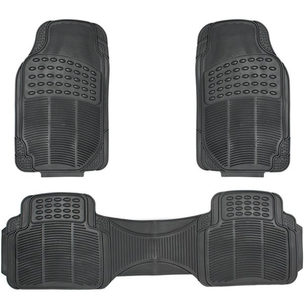 Shop Oxgord Ridged Style Rugged 3 Piece Pvc Rubber Floor