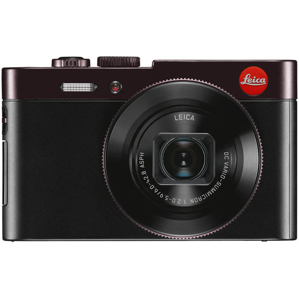 Leica C 12.1 Megapixel Bridge Camera - Dark Red