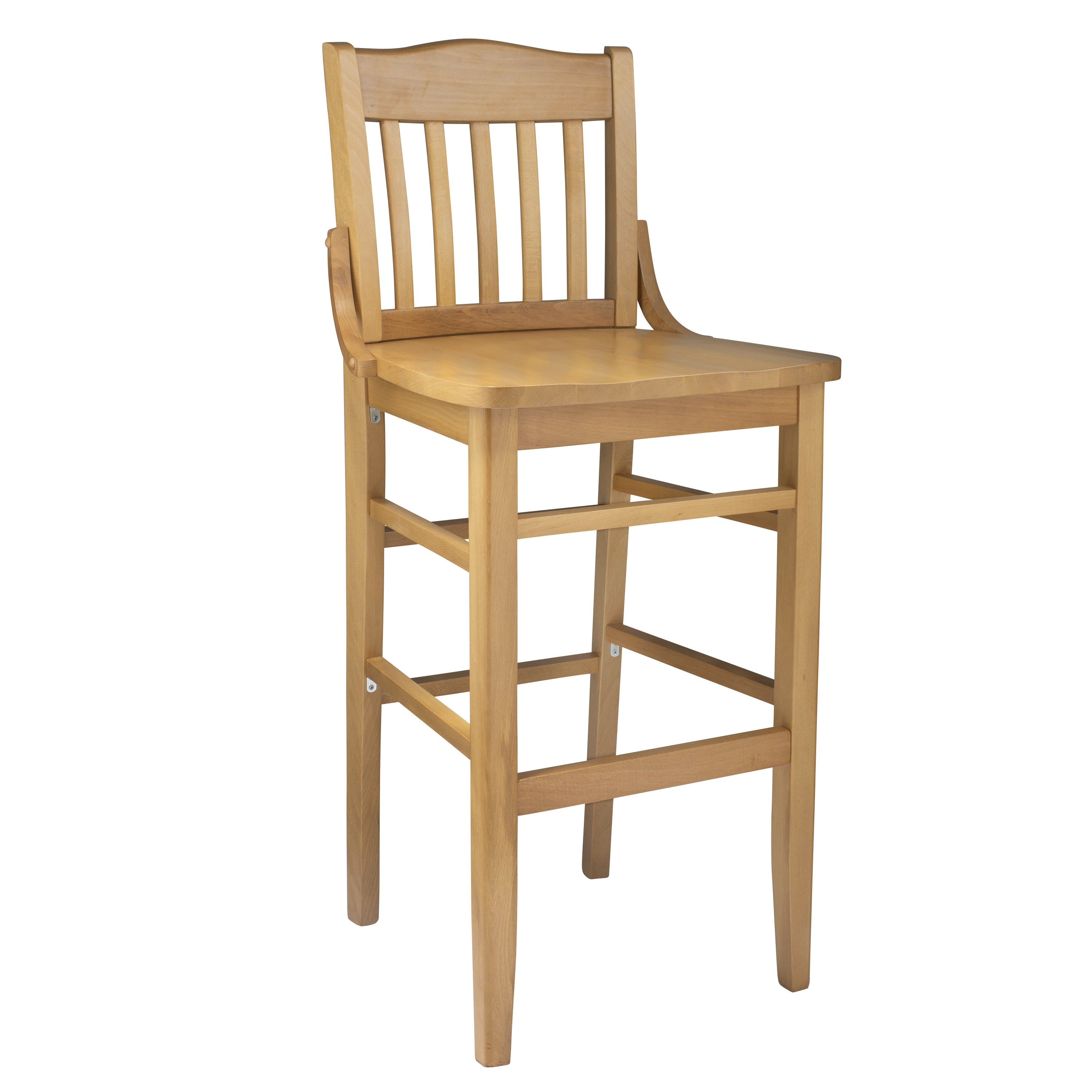 Picture of: Schoolhouse Wooden Bar Stool On Sale Overstock 8784685