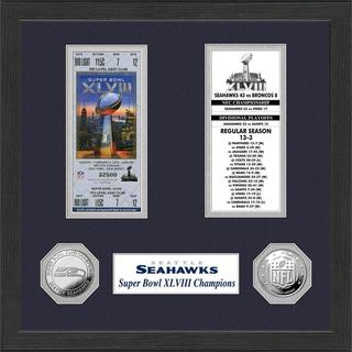 Seattle Seahawks Super Bowl Ticket Collection