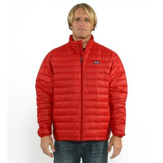 Shop Patagonia Men S Down Sweater In Red Delicious Free