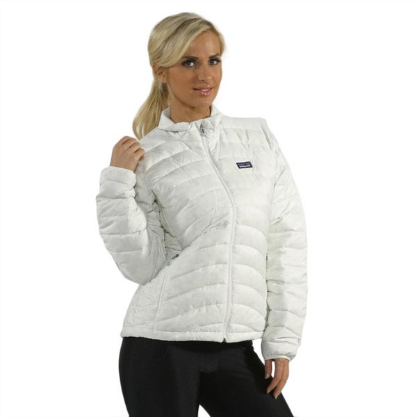 Shop Patagonia Women S Birch White Down Jacket Free