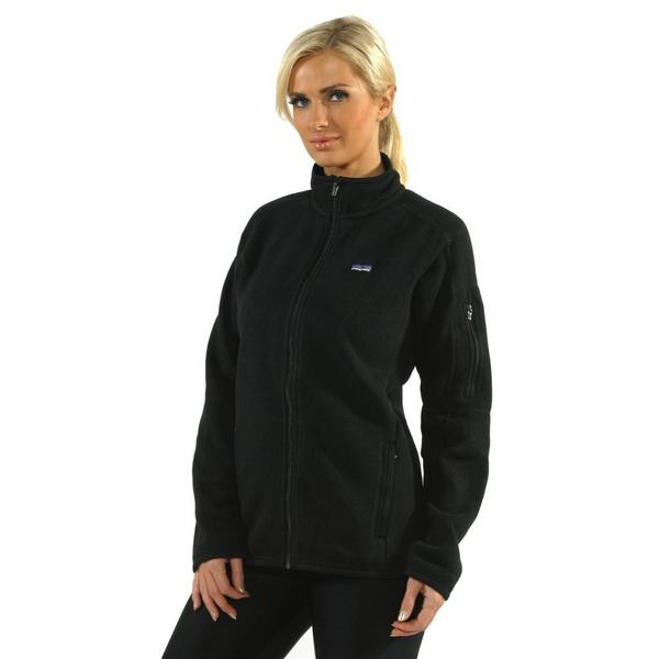 Patagonia Women's Black Better Sweater Jacket - Free Shipping ...