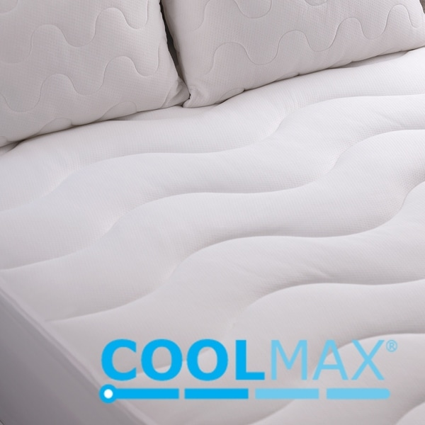 Home Source CoolMax Performance White King Sheet Set