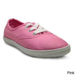 Blue Kids 'K-Riley' Bright Canvas Sneakers (More options available)