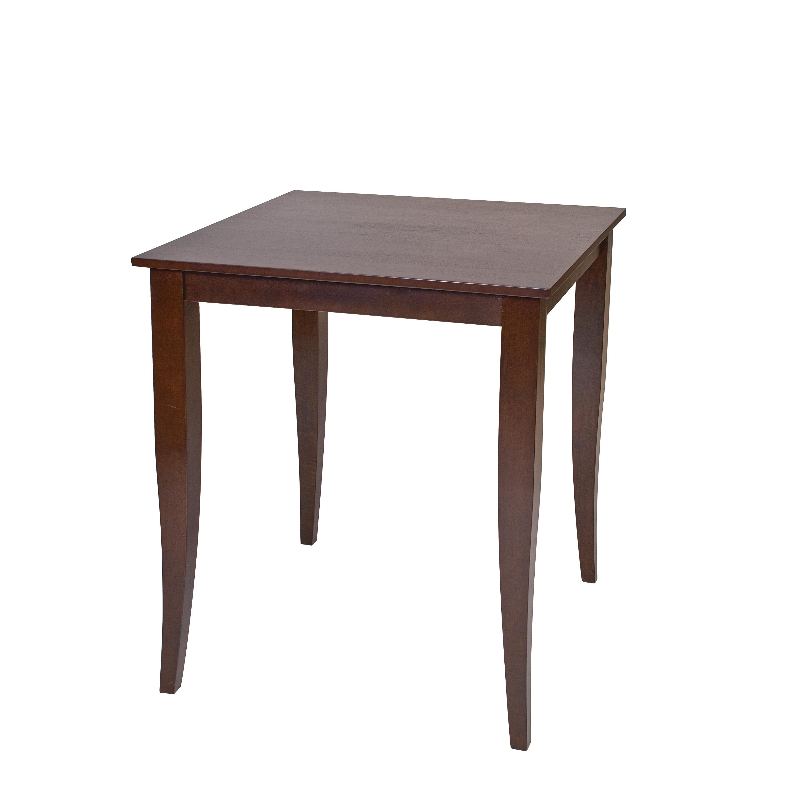 Jamestown 36.25-inch High Square Espresso Pub Table