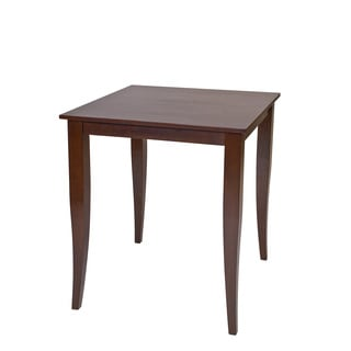 Jamestown 36.25-inch High Square Espresso Pub Table - Thumbnail 0