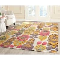 Safavieh Hand-woven Kenya Multicolored Wool Rug - 6' x 9'