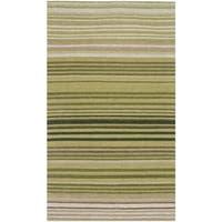 """Safavieh Hand-woven Marbella Green Wool Rug - 2'3"""" x 4'"""