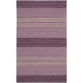 Safavieh Hand-woven Marbella Lilac Wool Rug (2'3 x 4')
