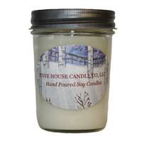 Scented Dye-free 8 oz. Jelly Jar Soy Candle
