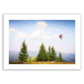 Dragos Dumitrascu 'Up High' Unwrapped Canvas Art