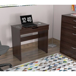 Inval Functional Writing Desk (Option: Espresso)