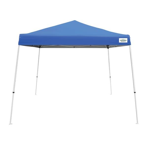 Caravan Canopy V-Series 2 Blue Canopy (10' x 10') - 10' x 10'. Opens flyout.