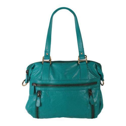 Women's Latico Hazel Gathered Shoulder Bag 7605 Caribe Leather