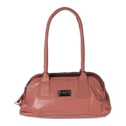 Women's Latico Louise Coinkeeper Shoulder Bag 7614 Pink Leather