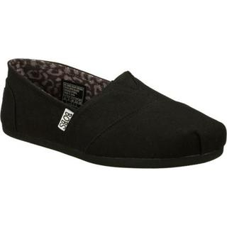 Women's Skechers BOBS Plush Peace and Love Black