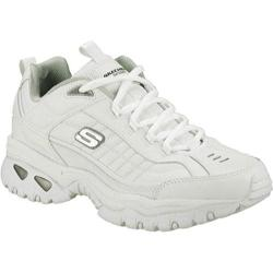 Men's Skechers Energy After Burn White Leather (W)|https://ak1.ostkcdn.com/images/products/8785429/83/836/Mens-Skechers-Energy-After-Burn-White-Leather-W-P16023999.jpg?impolicy=medium