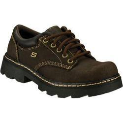 Women's Skechers Parties Mate Chocolate Scuff Resistant Leather|https://ak1.ostkcdn.com/images/products/8785498/83/837/Womens-Skechers-Parties-Mate-Chocolate-Scuff-Resistant-Leather-P16024061.jpg?impolicy=medium
