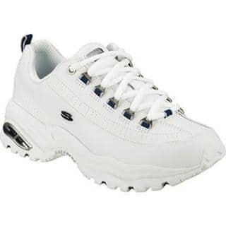 Women's Skechers Premium White/Navy|https://ak1.ostkcdn.com/images/products/8785499/P16024062.jpg?impolicy=medium