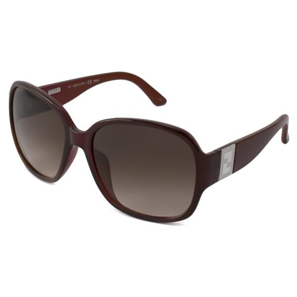 Fendi Women's FS5336 Rectangular Sunglasses