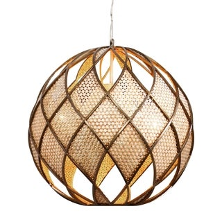 Varaluz Argyle 4-light New Bronze Pendant