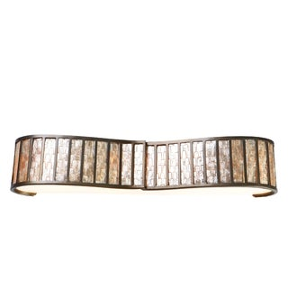Varaluz Affinity 4-light New Bronze Vanity Fixture