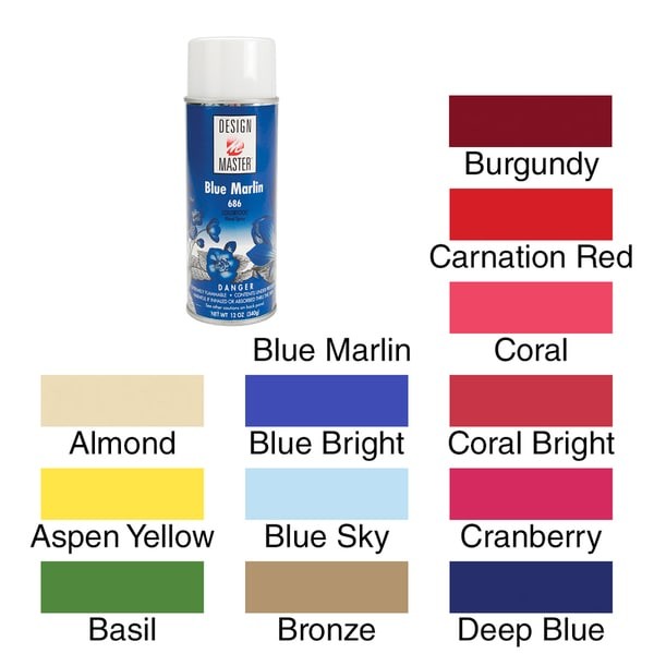 Shop Colortool Floral Spray Paint 12oz Free Shipping On Orders