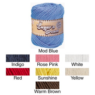 Sugar'n Cream Yarn Solids Super Size