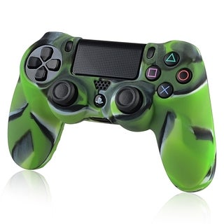 INSTEN Camouflage Navy Green Skin Phone Case Cover for Sony PS 4 Controller