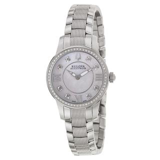 Bulova Accutron Women's 'Masella' Stainless Steel Swiss Quartz Watch