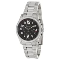 Hamilton Men's 'Khaki' Stainless Steel Military Time Watch