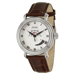 Bulova Accutron Men's 'Amerigo' Stainless Steel Swiss Automatic Watch
