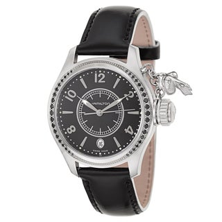 Hamilton Women's 'Khaki Navy Seaqueen' Stainless Steel Swiss Quartz Watch